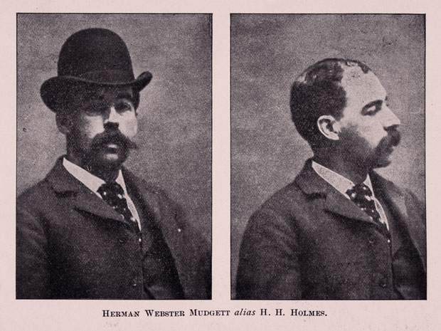 Herman Webster Mudgett alias H H Holmes