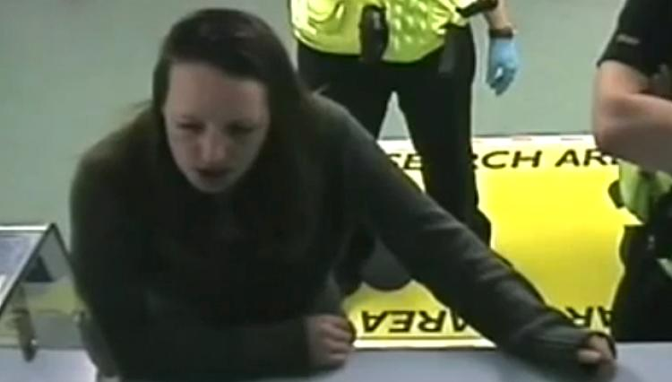 Joanna Dennehy after her arrest.