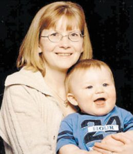 Zachary Turner with his Mother