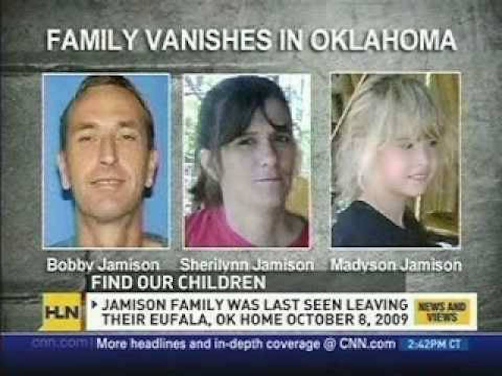 Family vanishes in Oklahoma
