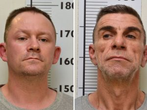 Stephen Unwin (left) and William McFall face life in jail